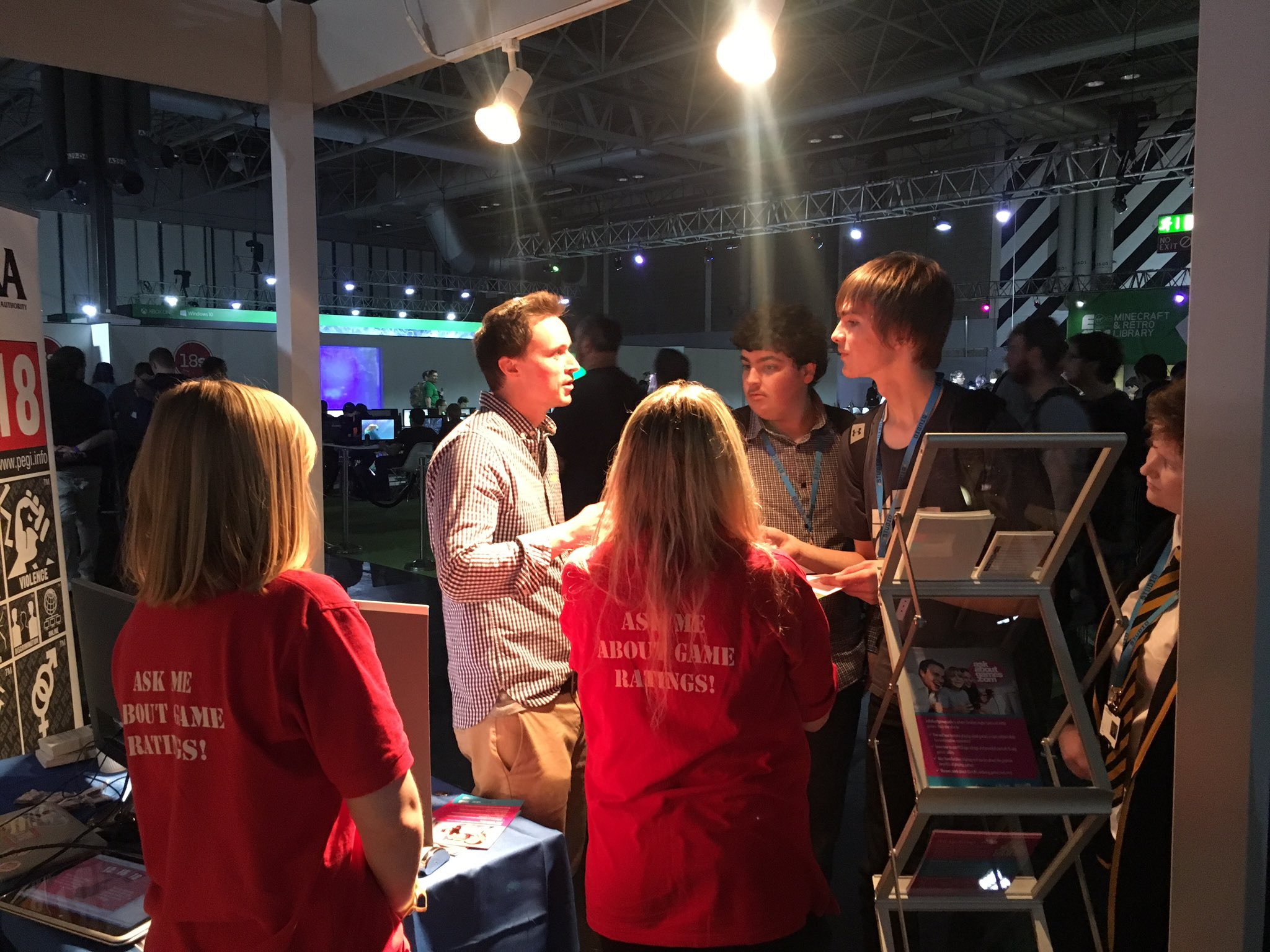 Featured Image for Families Talk PEGI And Gaming At EGX